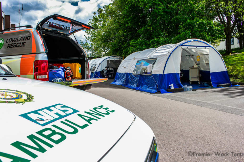 Professionele Triage en Quarantaine Tenten Karsten Tenten